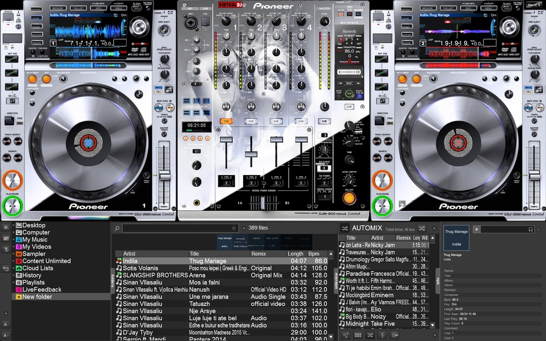 VIRTUAL DJ SOFTWARE - Skins