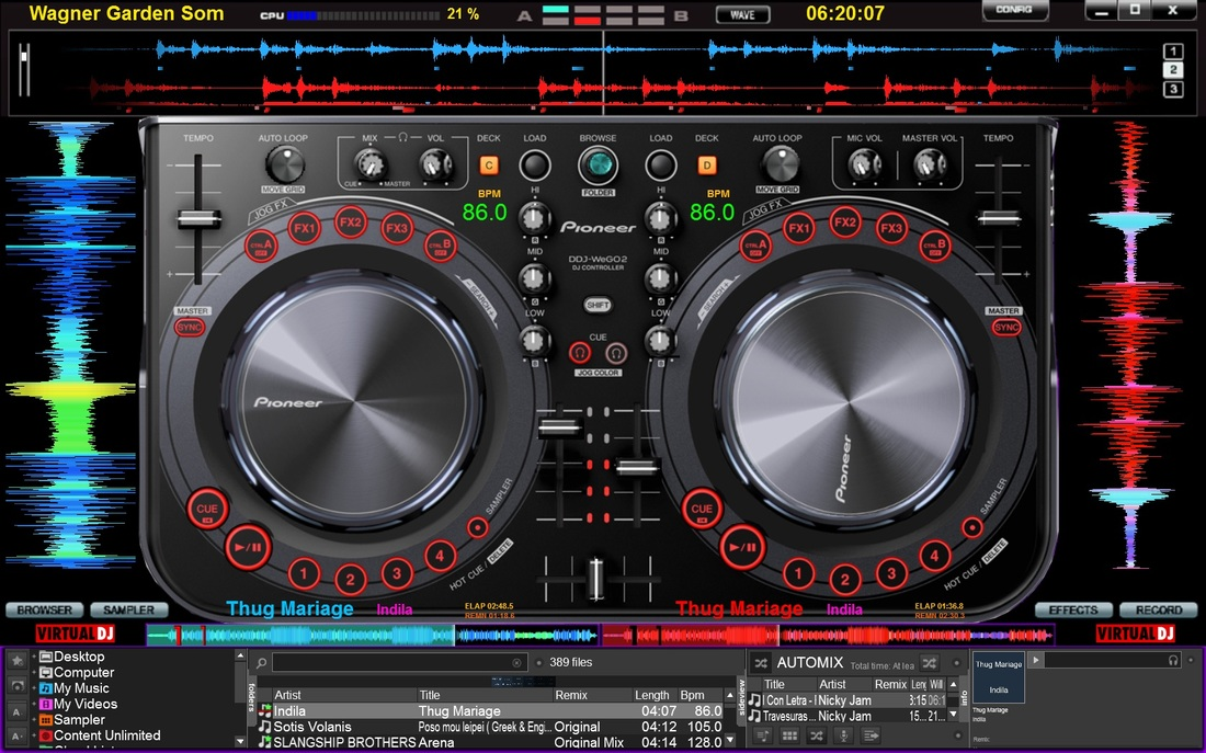 virtual dj 8 skins download free